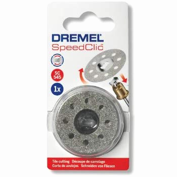 Bäder Fliesen Modern Neu Dremel 456 Ez Speedclic Cutting Wheels Accessory Set with 5