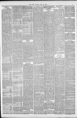 Foto Leporello Dm Schön the Age From Melbourne Victoria Australia On May 26 1884