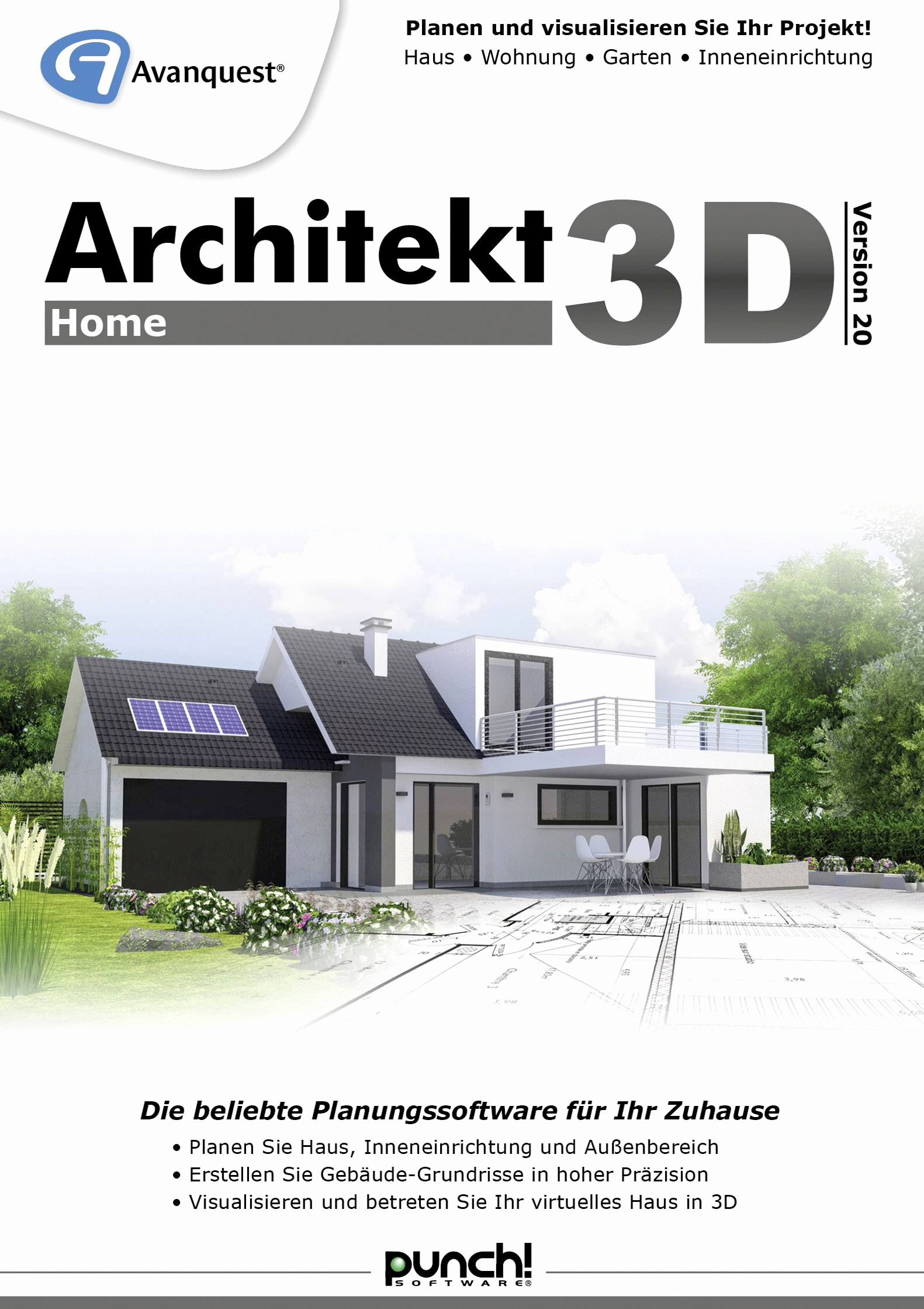 Haus Planen software Einzigartig Avanquest Architekt 3d 20 Home Vollversion 1 Lizenz Windows Planungs software