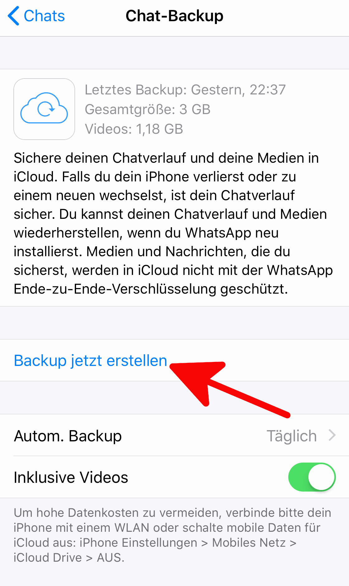iPhone Kontakte Wiederherstellen Genial Whatsapp Chat Backup