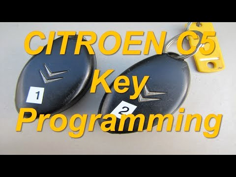 Kücheninsel Selber Bauen Elegant Citroen C5 How to Program Keys with Lexia 3 Citroen Remote