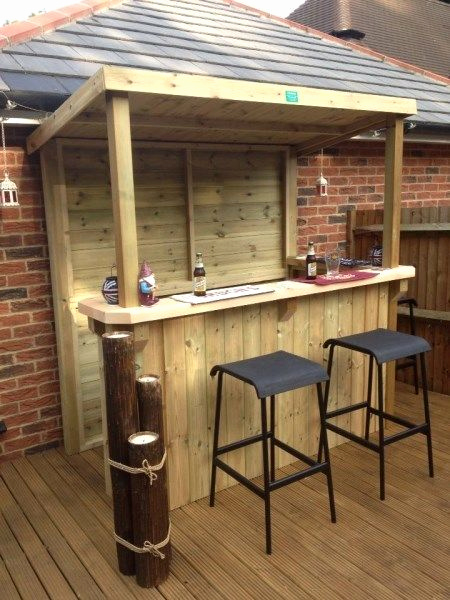 Tiki Bar Selber Bauen Frisch 20 Creative Patio Outdoor Bar Ideas You Must Try at Your