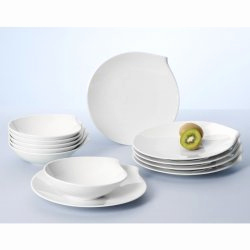 Villeroy Boch Flow Schön Villeroy & Boch Flow Dinner Set 12 Ks